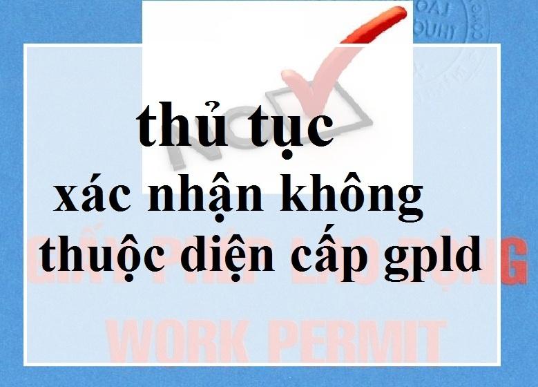 truong hop khong can xin giay phep lao dong